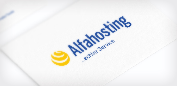 Corporate Design – Alfahosting
